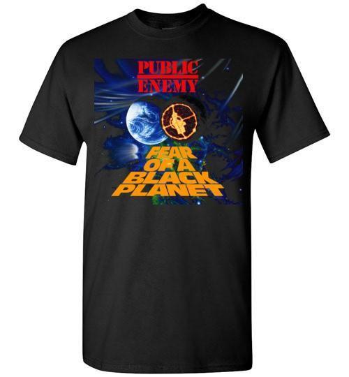 Public Enemy Fear Of A Black Planet Album Cover, Chuck D, Flavor Flav,Terminator X, Classic Hip Hop ,v5, Gildan Short-Sleeve T-Shirt