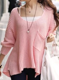 Single Pocket Sweater