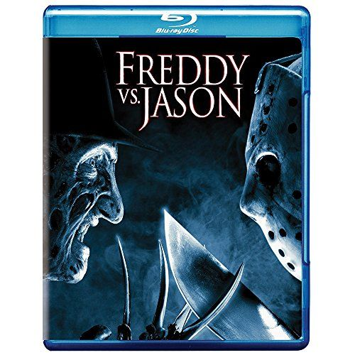 Freddy vs. Jason [Blu-ray]:   ![CDATA[Freddy vs. Jason (BD)/pThe slicer versus the slasher? Two titans of terror going at it mano-a-machete? They're gonna kill each other a lot! The horror (and wicked fun) begins when Freddy realizes he can't haunt dreams because folks no longer fear him. So he enlists Jason to do a little killing on his behalf on Elm Street. Presto, the fear is back – and so is Freddy. One problem: Jason isn't about to stop offing people. And another: Freddy isn't abo...