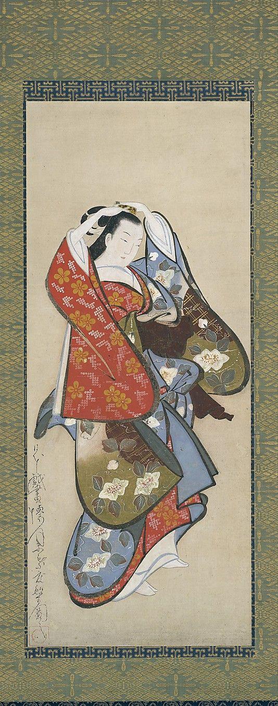 Kaigetsudo Dohan S Painting Beautiful Woman