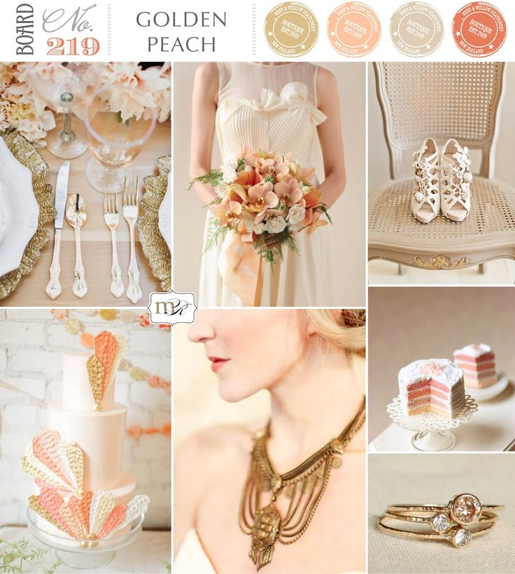 Magnolia Rouge: Board#219: Golden Peach