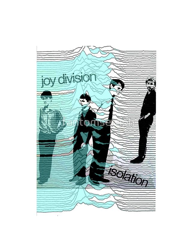 Joy Division Shirt Isolation unknown pleasures