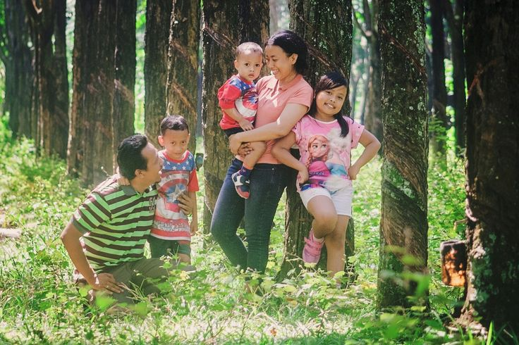 Grow up with them. #trees #rubbertrees #grass #family #nature