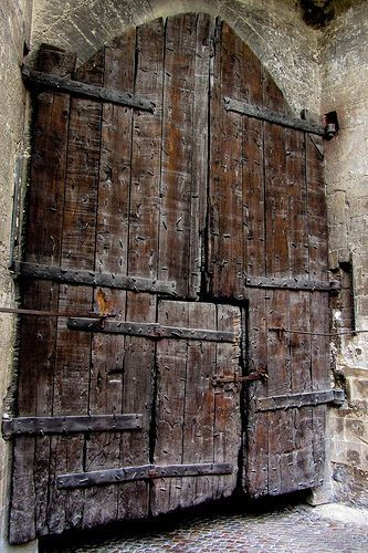portermoto:  Great Old Door by Jocey K on Flickr