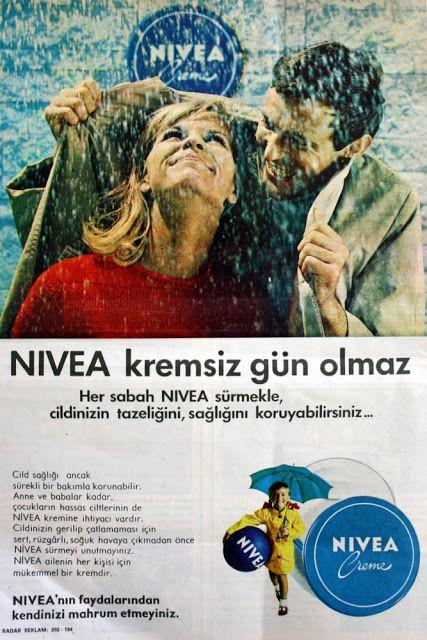 OĞUZ TOPOĞLU : nivea kremsiz gün olmaz 1970 nostaljik eski kozmet...