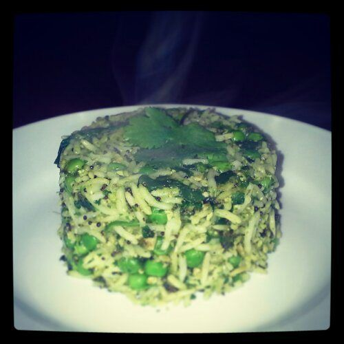 Healthy Green Rice