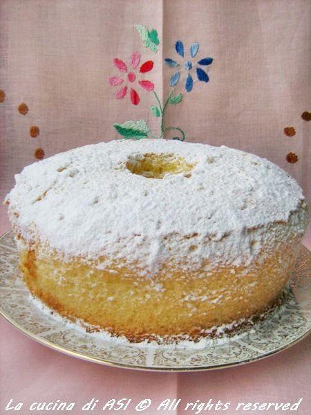 CHIFFON-CAKE La cucina di ASI provatela ..è fantastica!!