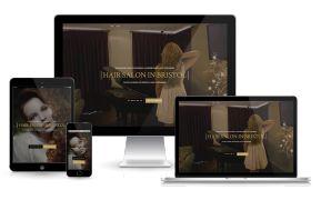 Kaderníctvo - www.salonlareine.com #kadernictvo #webdesign