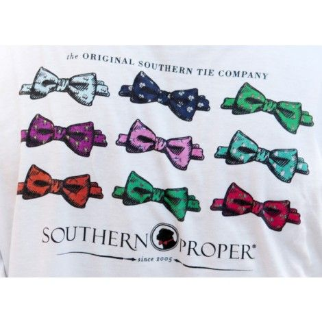 Southern Proper Bow Tie Tee by Southern Proper- sell this and others like it at The Hub at Merchants Walk