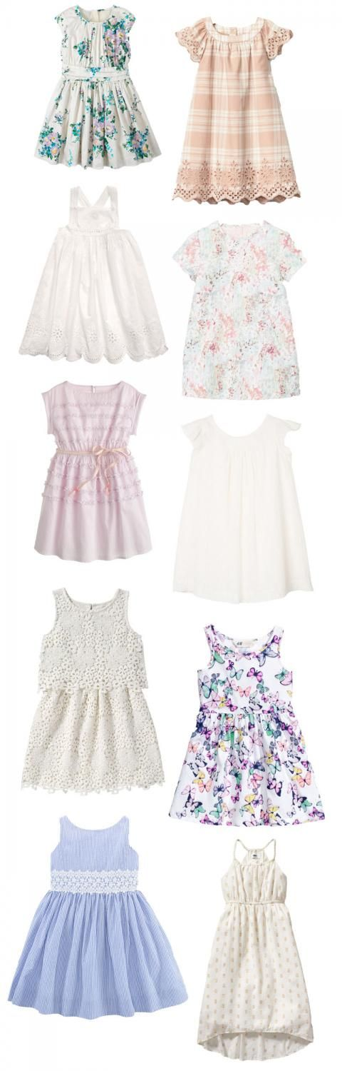 How sweet are these dresses?