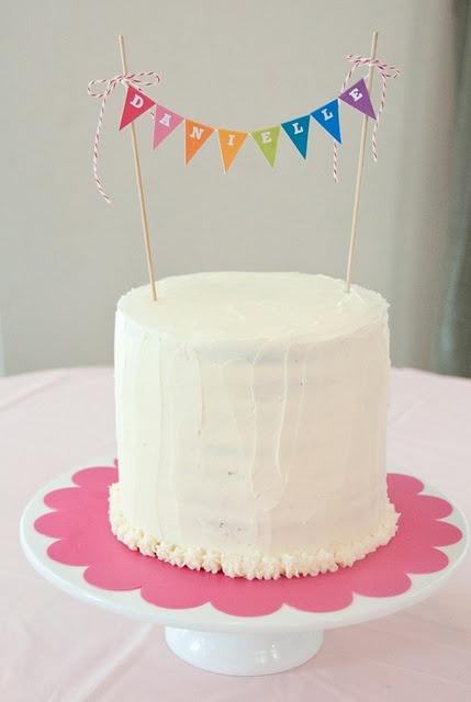 Födelsedagskalas, namn på tårtan