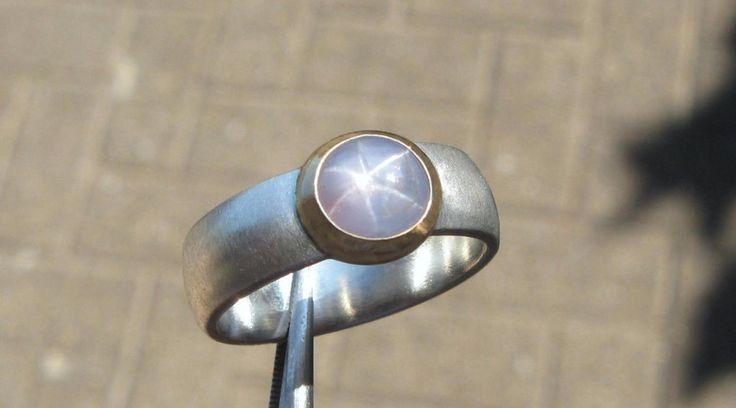 Sternsaphir Ring Saphir von SINNlich Marietta Wülfing auf DaWanda.com