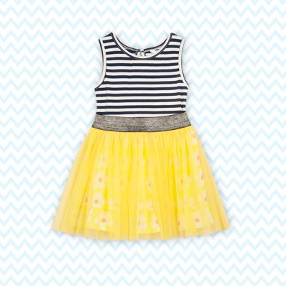 Pumpkin Patch Daisy Dress - available in sizes 12-18m to 6 years http://www.pumpkinpatchkids.com/