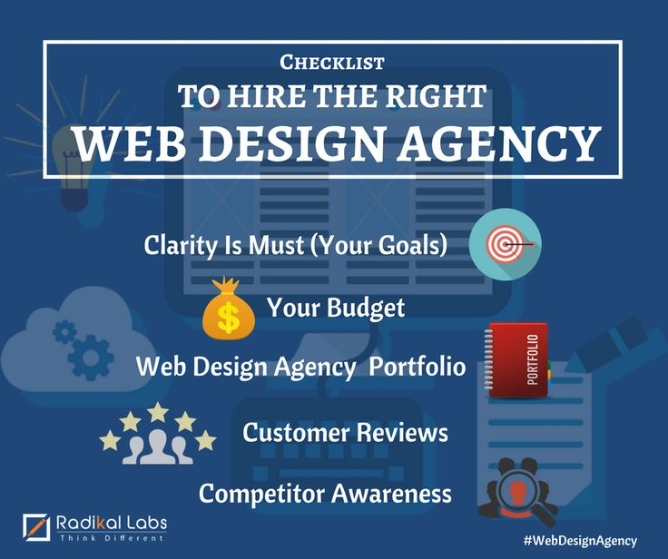 Ultimate Checklist To Hire The Right Web Design Agency http://bit.ly/2bw8ca8