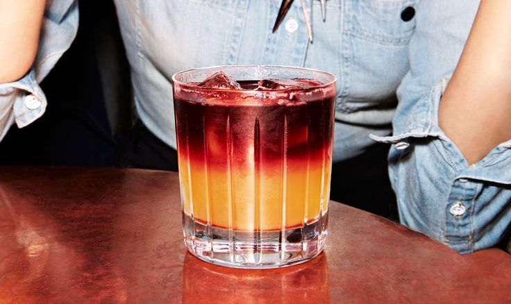 This wine-spiked whiskey sour is our pick for comeback cocktail of the year.