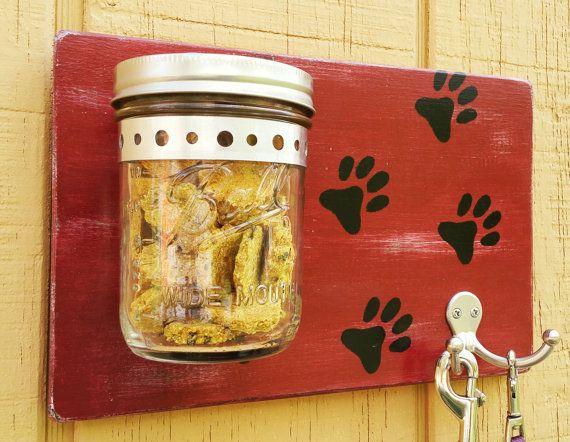 Hey, I found this really awesome Etsy listing at https://www.etsy.com/listing/291012759/wood-paw-print-dog-leash-mason-jar-treat