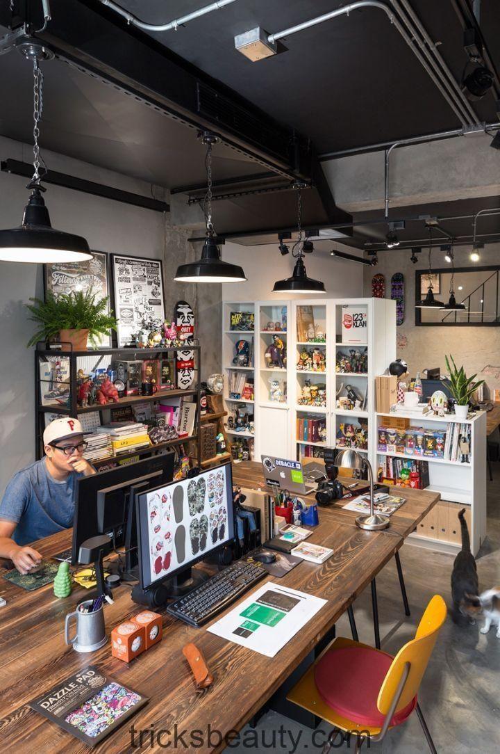 125 Erstaunliche Arbeitsbereiche in Innenräumen und Möbel