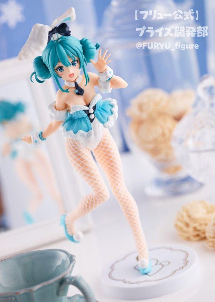 Vocaloid Figurine FuRyu BiCute Bunnies White Rabbit 2020 Miku Hatsune