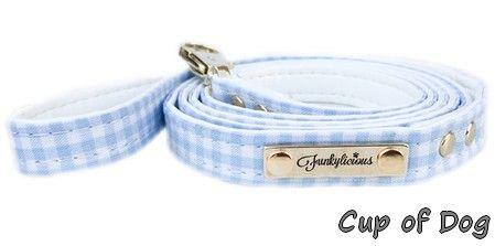 Laisse chien Vichy Bleu Funkylicious https://www.cupofdog.fr/collier-harnais-chihuahua-petit-chien-xsl-243.html