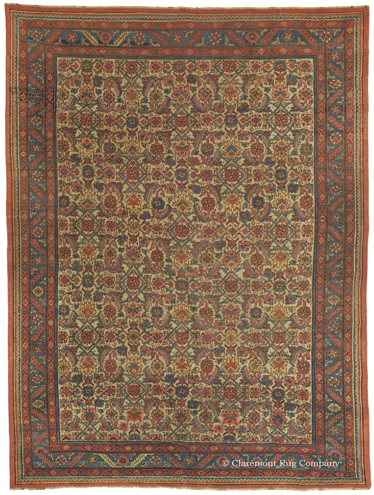 Persian Rugs With Deep Red In Small Rooms