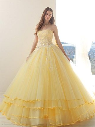 Yellow Wedding Dress ~
