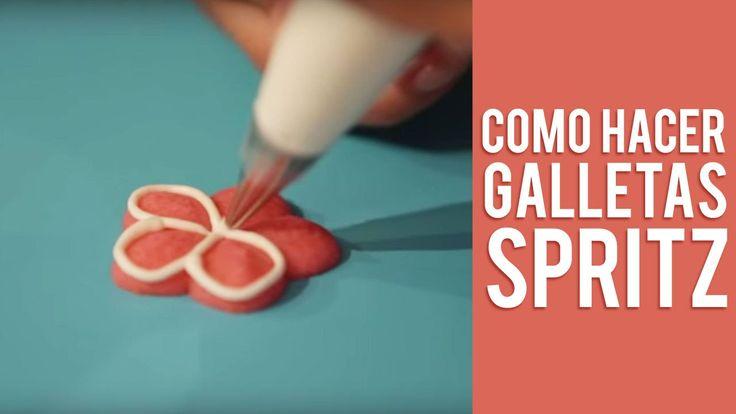 Como Hacer Galletas Spritz