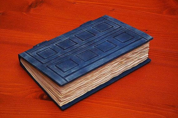 Tardis/River Song's Journal Book by sillylovecrafts