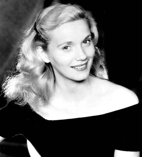 "A young Eva Marie Saint, appearing here much as did in ""On the Waterfront,"" for which she won best supporting actress in 1954."