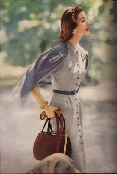 Vogue September 1956  American collection