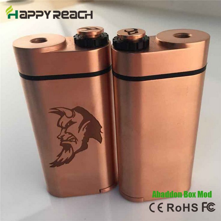 >> Click to Buy << 1pc Abaddon Box Mod Dual 18650 Battery Mechanical Mod Copper Contact 510 Thread VS Cherry Bomber Dimitri Box mod #Affiliate