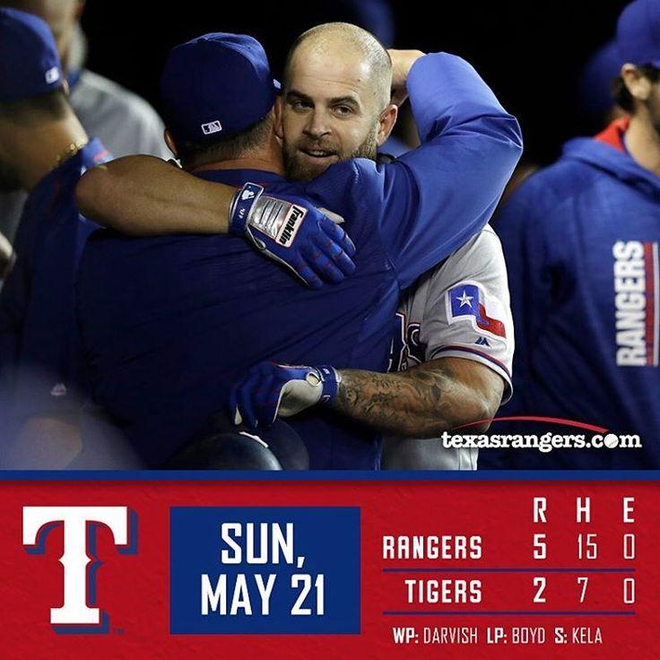 2017-05-21 Game 045 Texas Rangers @ Detroit Tigers