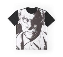 angry 12th doctor who played by Peter Capaldi t-shirt avaiable on redbubble