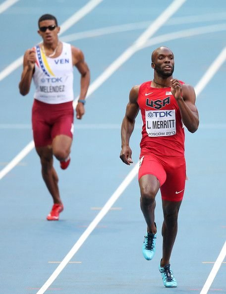 LaShawn Merritt | Lashawn Merritt LaShawn Merritt of the United States competes in the ..OS guld Peking 2008.