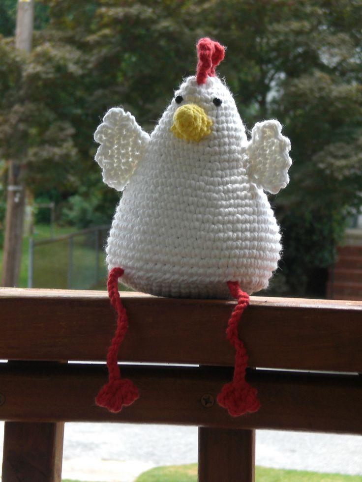 Hen By Emma Wilke - Free Crochet Pattern - (ravelry) +