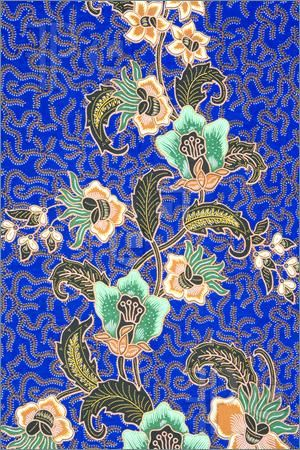 Indonesian batik sarong pattern.