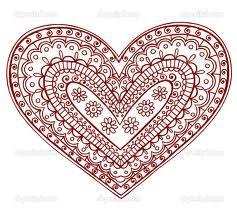Henna heart