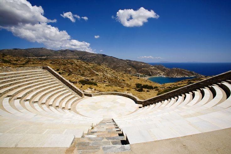 I Odysseas Elytis Theatre, Ios, Greece