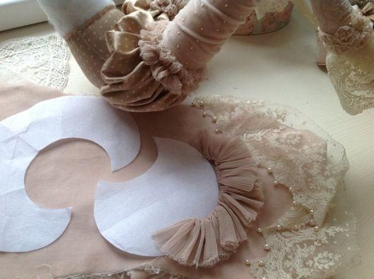 Кукольная мастерская ANNADAN: Лиф, вышивка и выкройка части юбки