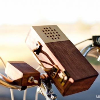 The Wooden Music Box For Your Bicycle – Makeful