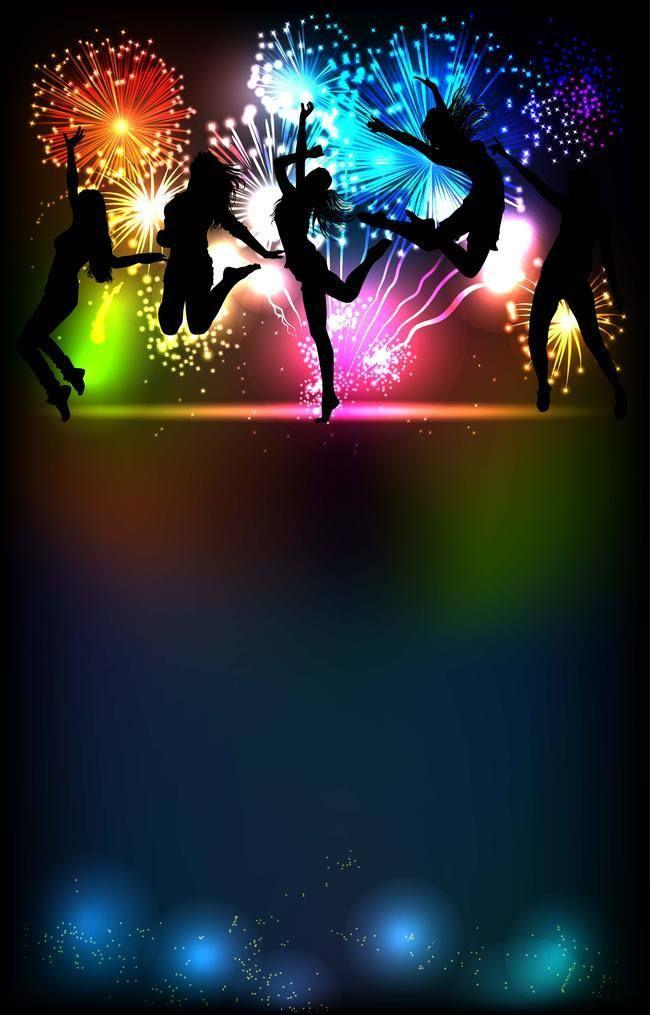 Disco Dance Night Party Background Imagem Festa Festa Funk Cartaz De Festa