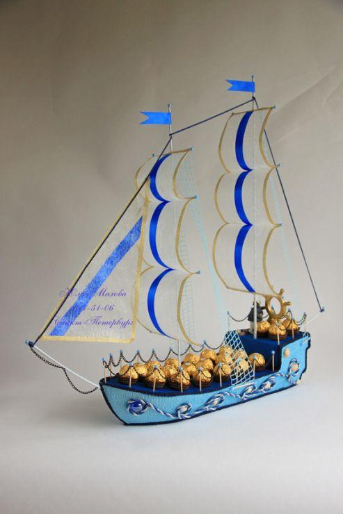 Gallery.ru / Фото #56 - Корабли из конфет в СПб - MamaYulia