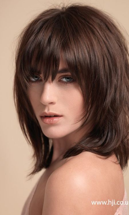 Best Mid Length Hairstyles For Thick Hair Haircuts And