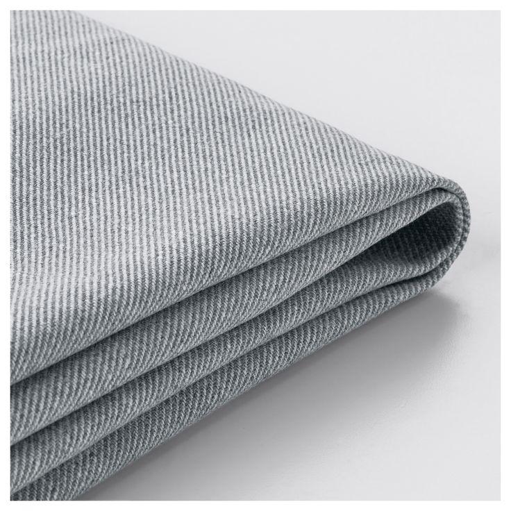 IKEA - TULLSTA Armchair cover Nordvalla medium gray