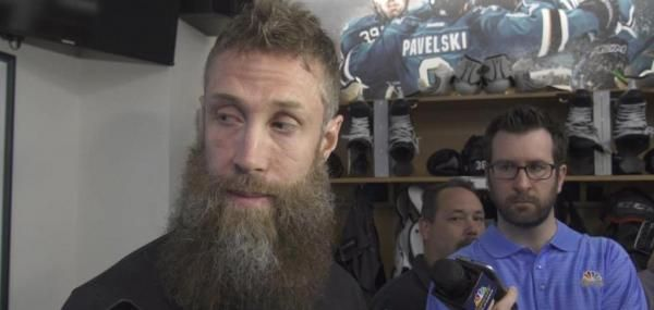 San Jose Sharks captain Joe Thornton played four postseason games with a torn anterior cruciate ligament and torn medial collateral…