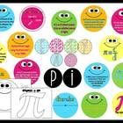 Getting ready for Pi Day is easy with this bright and informative bulletin board.  Included in this kit are 10 bright circles with facts about pi a...