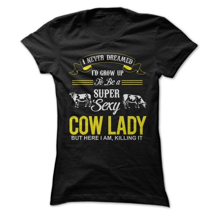 Sexy Cow Lady