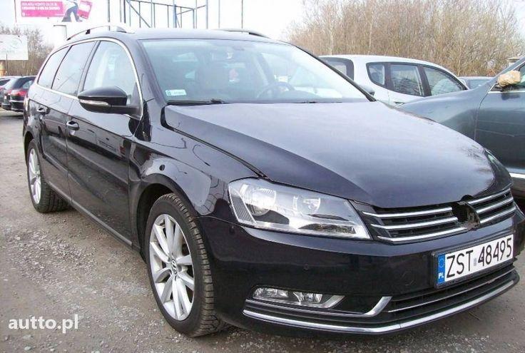 Volkswagen Passat 1,6TDI delikatnie uszkodzony