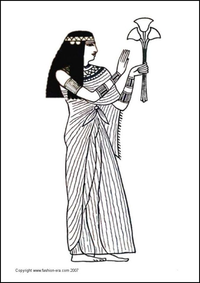 hat coloring pages ancient egypt - photo#34
