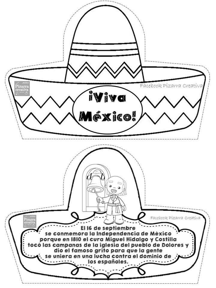 Pin De Moxxa Mena En Septiembre Dibujos De La Independencia Revolucion Mexicana Para Ninos Trabajos Para Preescolar