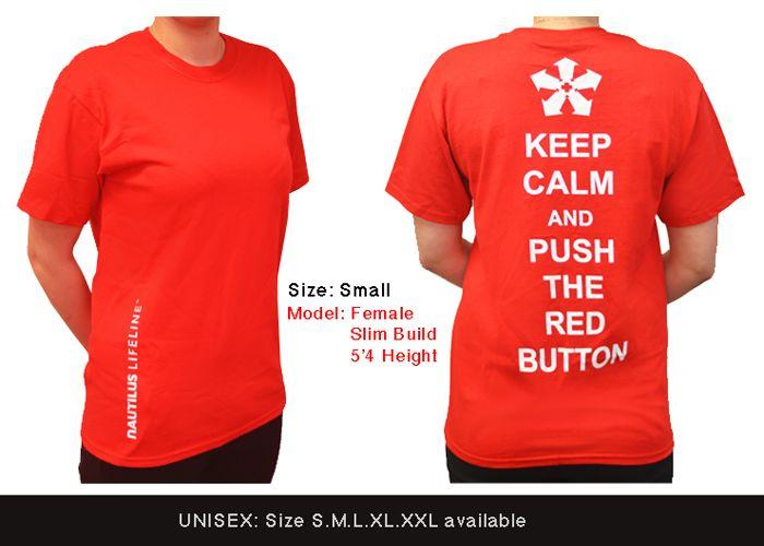 Nautilus LifeLine T-shirt (Red/ Black Available)